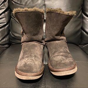 UGG Australia Classic Bailey Dark Brown Boot, 6